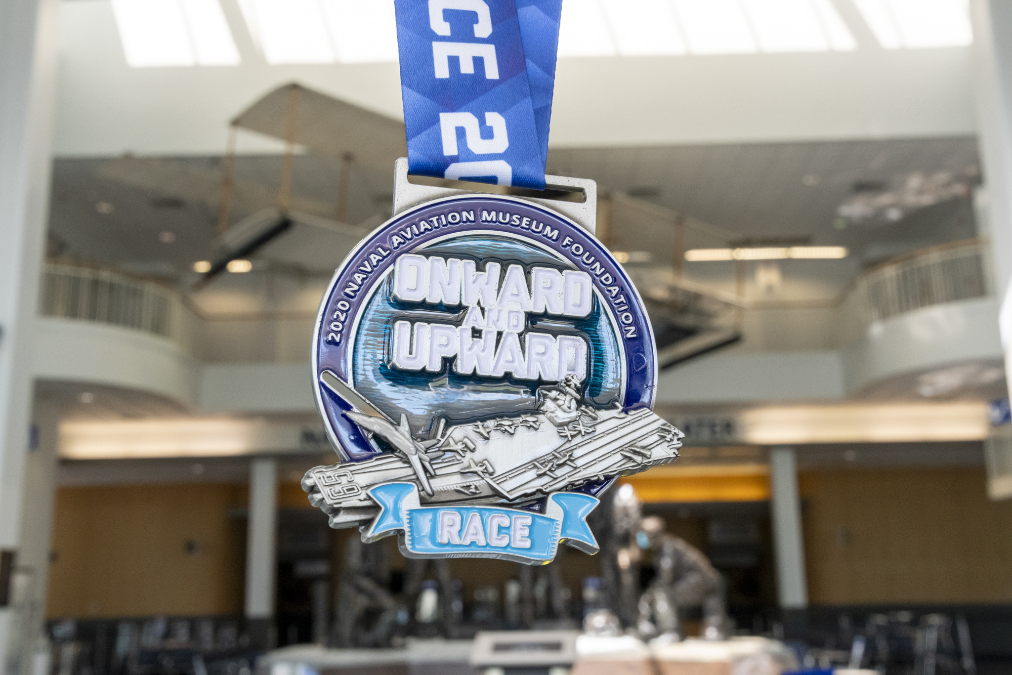 Virtual Run Medal Photo